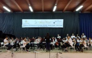 L'orchestra giovanile Virgilio incanta al Concorso Città di Sapri