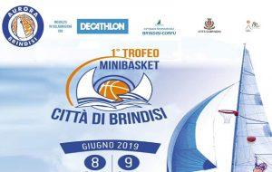 """Domani si presenta il primo trofeo di minibasket """"Città di Brindisi"""""""