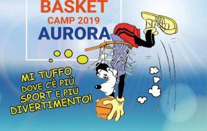 Tutto pronto per il Summer Basket Camp Aurora: appuntamento dal 10 giugno al 7 luglio