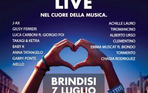 Battiti live: ecco gli artisti che si esibiranno a Brindisi