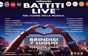 La Asl di Brindisi presente con uno stand nella giornata di Battiti Live