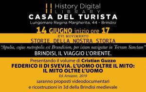 Brindisi, il viaggio, l'oriente: se ne parla venerdì 14 all'HDL di Brindisi