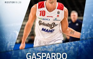 L'ala italiana Raphael Gaspardo firma con la Happy Casa Brindisi