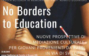 """Stasera al Castello di Mesagne la tavola rotonda """"No Borders to Education"""""""