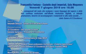 """Domani a Castello Imperiali incontro su """"Innovazione tecnologica, nuove professioni e formazione: il Sistema Italia al bivio"""""""