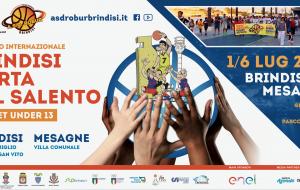 """Lunedì 13 parte il torneo di basket """"Brindisi Porta del Salento"""""""