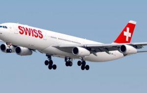 Dal 13 giugno torna il volo Zurigo – Brindisi