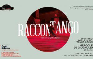 RacconTango: spettacolo della scuola TangoLevante e memorial Ilaria Rizzo