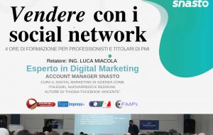 Vendere con i social network: se ne parla domani prtesso la sede ConApi