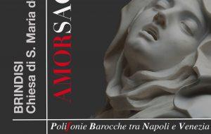 """Domani a Santa Maria degli Angeli """"Amor Sacro, polifonie barocche tra Napoli e Venezia"""""""