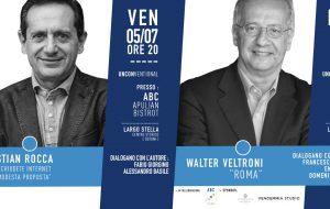 """Doppio appuntamento di """"Librinfaccia – Unconventional"""": venerdì 5 Christian Rocca e domenica 7 Walter Veltroni"""