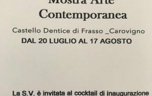 Domani si inaugura la Collettiva d'Arte Contemporanea al Castello di Carovigno