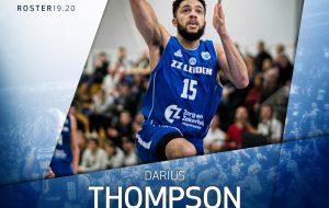 Il top scorer Darius Thompson alla corte della Happy Casa Brindisi