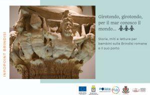 Dal 26 Luglio nell'Info-Point di Palazzon Nervegna storia, miti e letture per bambini sulla Brindisi romana e il suo porto