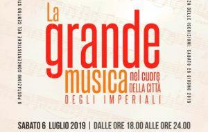 Dalla musica classica al pop passando per le sonorità jazz e blues: ecco l'estate in musica di Francavilla Fontana