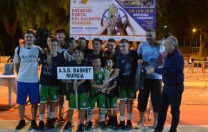 """L'Asd Murgia Basket di Cassano Murge vince il VII Torneo Internazionale """"Brindisi Porta del Salento"""""""