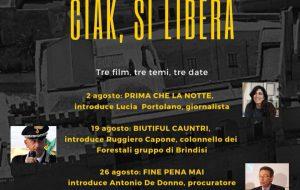 Ciak, si Libera: a Mesagne il cinema della legalità
