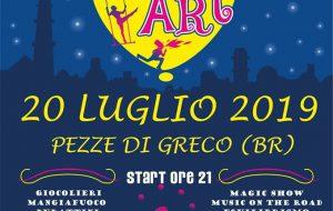 """Sabato 20 luglio torna """"Street Art a Pezze di Greco"""""""