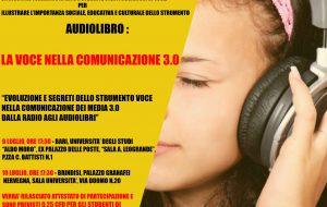 """Mercoledì 10 a Palazzo Nervegna """"La voce nella comunicazione 3.0"""""""