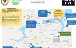 Battiti live a Brindisi: tutte le info su piano traffico e parcheggi