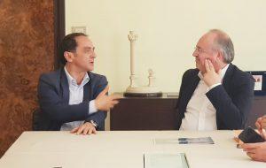 Il sindaco Rossi ha incontrato il nuovo rettore dell'Università di Bari