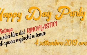 "Mercoledì 4 ""Happy Day Party"": festa vintage al Cag del Paradiso"