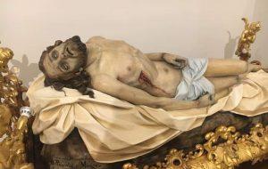 Venerdì 23 si presentato il restauro del Cristo Deposto nella Chiesa del Purgatorio