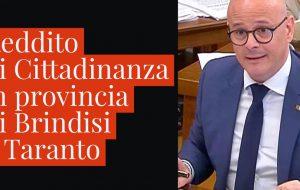 """Reddito di cittadinanza, Aresta (M5S): """"in provincia di Brindisi il numero più basso di domande registrato in Regione"""""""
