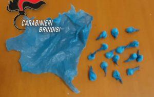 Alla vista dei Carabinieri getta nel bidone della spazzatura 15 dosi di cocaina: smascherato dalle telecamere ed arrestato