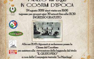 Sabato 24 visite guidate in costume d'epoca a Palazzo Imperiali a Latiano