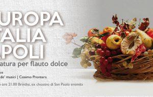 """Domenica 25 il Barocco Festival approda nell'ex Chiostro di San Paolo Eremita con """"L'Europa. l'Italia, Napoli"""""""