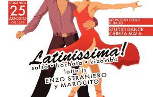 """Domenica 25 torna """"Latinissima"""" sul lungomare al passo dei ritmi caraibici"""
