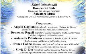 """Sabato 31 a San Vito """"La Notte della Cultura Mediterranea"""""""