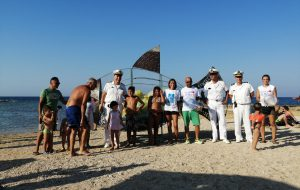 """Keep plastic e salva il mare: a Brindisi il """"Pesce mangia plastica"""" fornito da Ecotecnica"""