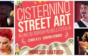 "Nel weekend torna il ""Cisternino Street Art"""