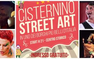 """Nel weekend torna il """"Cisternino Street Art"""""""