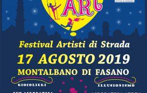 """Sabato 17 appuntamento a Montalbano con """"Street Art – Festival degli artisti di strada"""""""