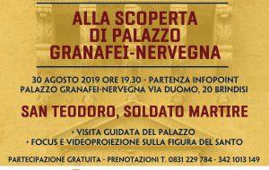 Palazzo Granafei-Nervegna: visita guidata sulla figura di San Teodoro D'Amasea