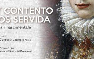 """Barocco Festival: martedì 27 """"Soy contento y vos servida"""" nel Chiostro dei Domenicani a San Vito dei Normanni"""