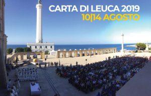 """Carta di Leuca: parte da Brindisi l'evento internazionale """"Mediterraneo: agorà dei popoli"""""""