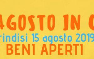 Ferragosto a Brindisi: aperti monumenti, musei, chiese e palazzi