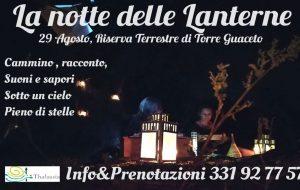 """A Torre Guaceto arriva """"La Notte delle Lanterne"""""""