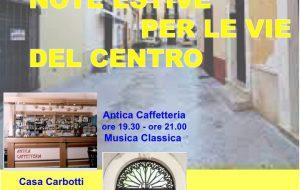 """Venerdì 6 a San Vito """"Note estive per le vie del centro"""""""