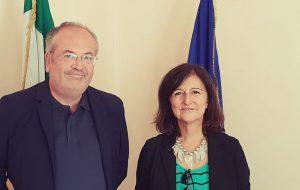 Il nuovo direttore della Base Logistica delle Nazioni Unite di Brindisi in visita a Palazzo di città