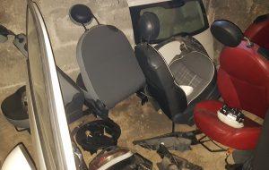 Scoperta officina abusiva finalizzata al riciclaggio di auto rubate