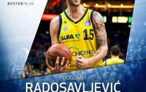 L'Happy Casa Brindisi tessera a gettone il pivot Bogdan Radosavljevic