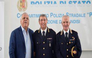 Va in pensione il Commissario D'Arrò della Polizia Stradale di Brindisi