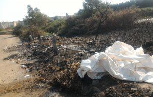 Roghi di rifiuti causano cattivo odore in città: sequestrata area vasta aerea nei pressi del Quartiere Paradiso