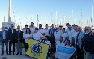 Da Brindisi a Trieste, Sos Villaggi Dei Bambini e il Team Gv3 a gonfie vele verso la Barcolana