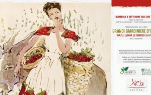 """Anteprima Hortus Ostuni: domenica Nicoletta Campanella presenta il libro """"Grandi Giardiniere d'Italia. Volti, luoghi, essenze, storia"""""""